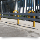 Unique design allows for interim adaptability to existing armco panels